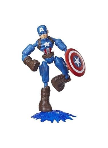 Hasbro Marvel Avengers Avengers Bend & Flex Captain America Figür Renkli